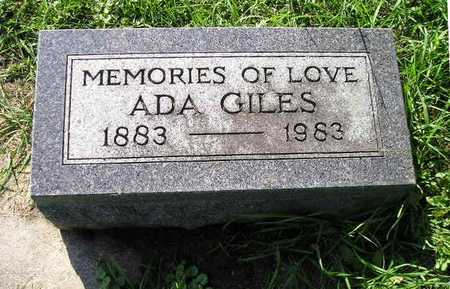 GILES, ADA - Bremer County, Iowa | ADA GILES
