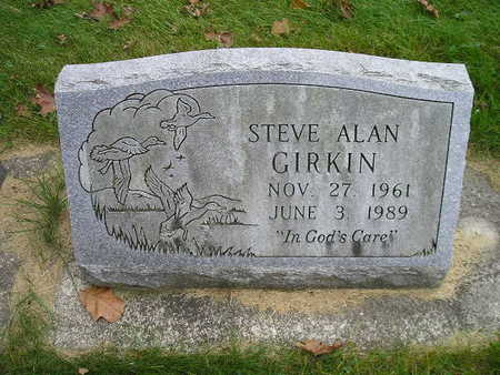 GIRKIN, STEVE ALAN - Bremer County, Iowa   STEVE ALAN GIRKIN