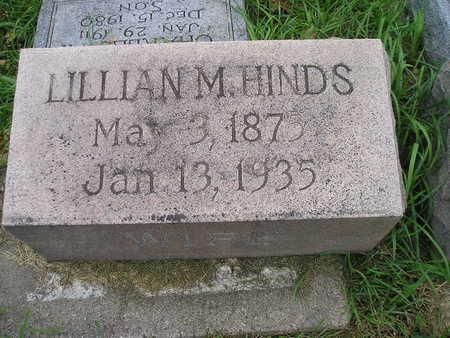 HINDS GLATTLY, LILLIAN M - Bremer County, Iowa | LILLIAN M HINDS GLATTLY