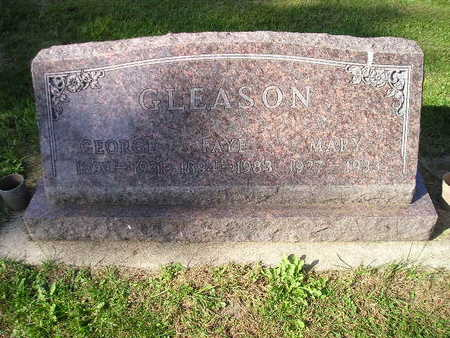 GLEASON, MARY - Bremer County, Iowa | MARY GLEASON