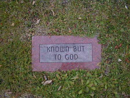 GOD, KNOWS - Bremer County, Iowa | KNOWS GOD
