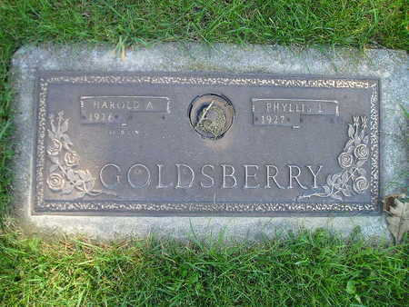 GOLDSBERRY, PHYLLIS L - Bremer County, Iowa | PHYLLIS L GOLDSBERRY