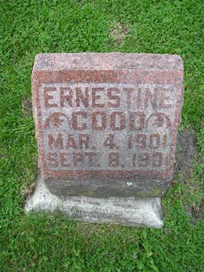 GOOD, ERNESTINE - Bremer County, Iowa | ERNESTINE GOOD