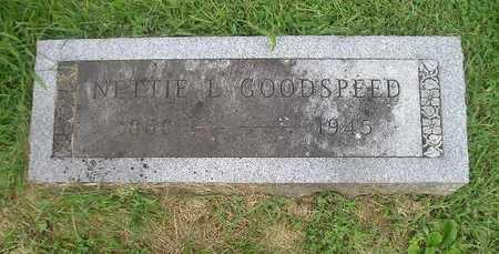 GOODSPEED, NETTIE - Bremer County, Iowa   NETTIE GOODSPEED