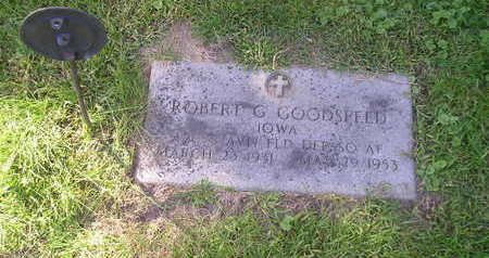 GOODSPEED, ROBERT G - Bremer County, Iowa   ROBERT G GOODSPEED