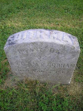 GORHAM, EDITH MAY - Bremer County, Iowa   EDITH MAY GORHAM