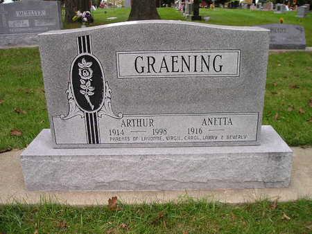 GRAENING, ARTHUR - Bremer County, Iowa | ARTHUR GRAENING