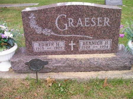 GRAESER, BERNICE H - Bremer County, Iowa | BERNICE H GRAESER