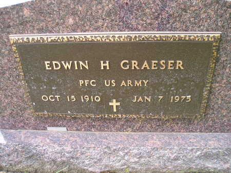GRAESER, EDWIN H - Bremer County, Iowa   EDWIN H GRAESER