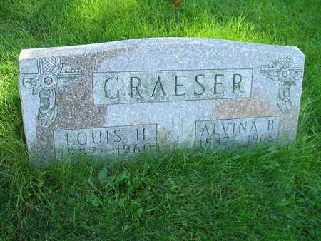 GRAESER, ALVINA B - Bremer County, Iowa | ALVINA B GRAESER