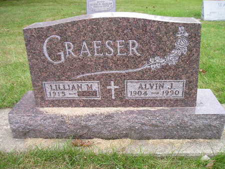 GRAESER, LILLIAN M - Bremer County, Iowa | LILLIAN M GRAESER