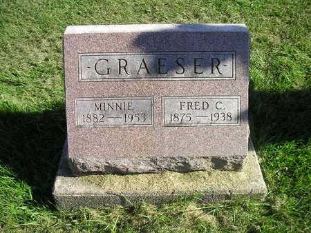 GRAESER, MINNIE - Bremer County, Iowa | MINNIE GRAESER