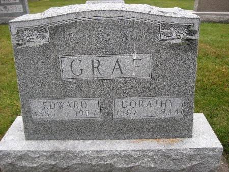 GRAF, EDWARD - Bremer County, Iowa   EDWARD GRAF