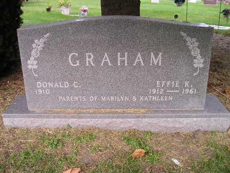 GRAHAM, EFFIE K - Bremer County, Iowa | EFFIE K GRAHAM