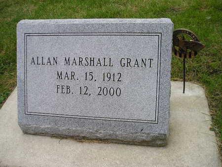 GRANT, ALLAN MARSHALL - Bremer County, Iowa | ALLAN MARSHALL GRANT