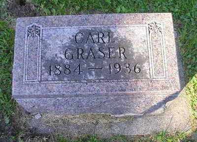 GRASER, CARL - Bremer County, Iowa | CARL GRASER