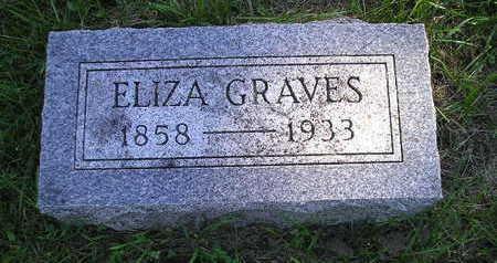 GRAVES, ELIZA - Bremer County, Iowa | ELIZA GRAVES