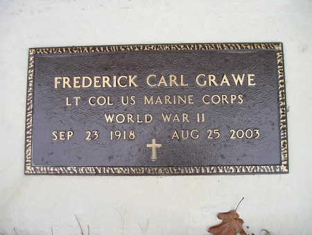 GRAWE, FREDERICK CARL - Bremer County, Iowa | FREDERICK CARL GRAWE