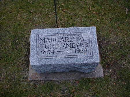 GRETZMEYER, MARGARET A - Bremer County, Iowa   MARGARET A GRETZMEYER