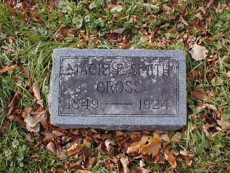 GROSS, MACIE E - Bremer County, Iowa | MACIE E GROSS