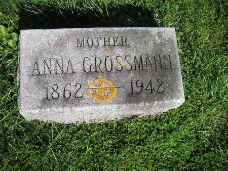 GROSSMANN, ANNA - Bremer County, Iowa | ANNA GROSSMANN