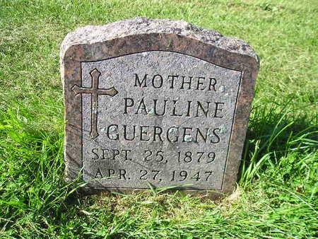 GUERGENS, PAULINE - Bremer County, Iowa | PAULINE GUERGENS