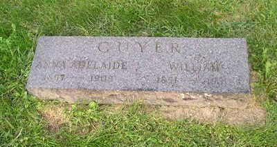 GUYER, ANNA - Bremer County, Iowa | ANNA GUYER