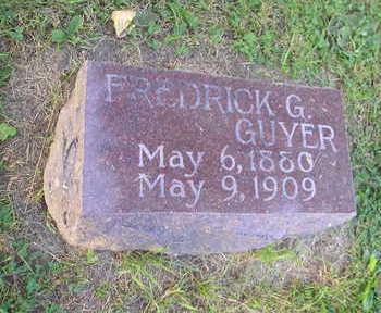 GUYER, FREDERICK G - Bremer County, Iowa   FREDERICK G GUYER