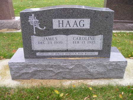 HAAG, CAROLINE - Bremer County, Iowa   CAROLINE HAAG