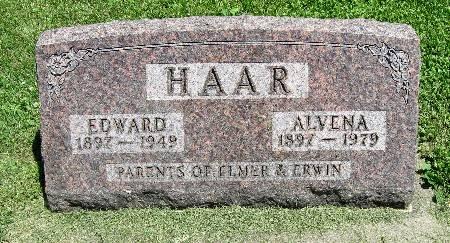 HAAR, ALVENA - Bremer County, Iowa | ALVENA HAAR