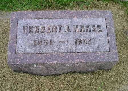 HAASE, HERBERT J - Bremer County, Iowa   HERBERT J HAASE