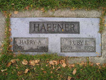 HAEFNER, RUBY I - Bremer County, Iowa   RUBY I HAEFNER