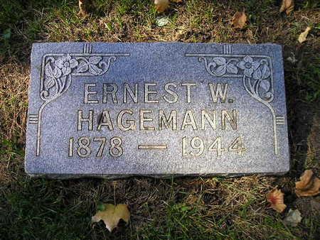HAGEMANN, ERNEST W - Bremer County, Iowa | ERNEST W HAGEMANN