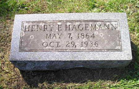 HAGEMANN, HENRY F - Bremer County, Iowa | HENRY F HAGEMANN