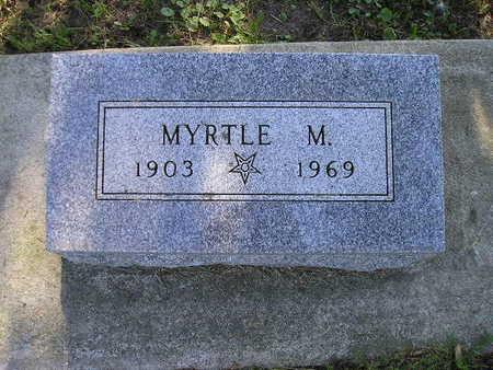 HAGEMANN, MYRTLE M - Bremer County, Iowa | MYRTLE M HAGEMANN