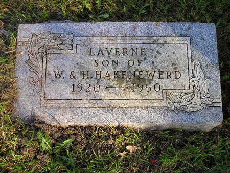 HAKENEWERD, LAVERNE - Bremer County, Iowa | LAVERNE HAKENEWERD