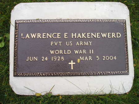 HAKENEWERD, LAWRENCE E - Bremer County, Iowa | LAWRENCE E HAKENEWERD