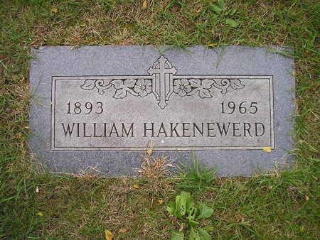 HAKENEWERD, WILLIAM - Bremer County, Iowa   WILLIAM HAKENEWERD