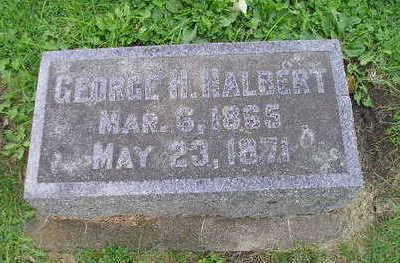 HALBERT, GEORGE H. - Bremer County, Iowa | GEORGE H. HALBERT