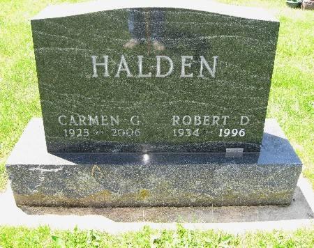 HALDEN, ROBERT D - Bremer County, Iowa   ROBERT D HALDEN