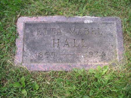 HALL, ETTA MABEL - Bremer County, Iowa | ETTA MABEL HALL
