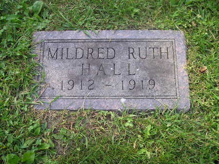 HALL, MILDRED RUTH - Bremer County, Iowa | MILDRED RUTH HALL