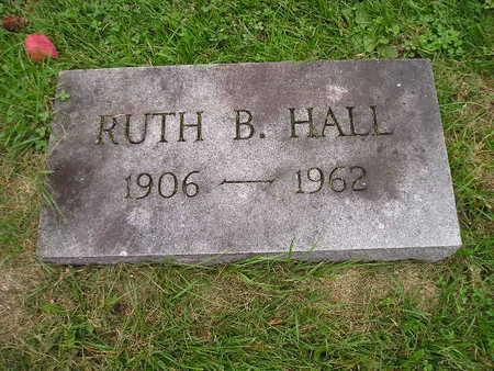 HALL, RUTH B - Bremer County, Iowa | RUTH B HALL