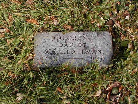 HALLMAN, DOLORES - Bremer County, Iowa | DOLORES HALLMAN