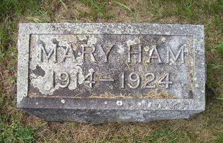 HAM, MARY - Bremer County, Iowa | MARY HAM