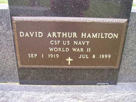 HAMILTON, DAVID ARTHUR - Bremer County, Iowa | DAVID ARTHUR HAMILTON