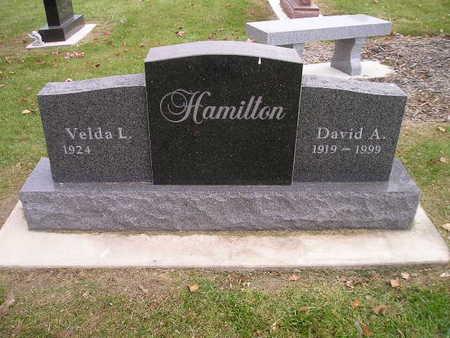 HAMILTON, DAVID A - Bremer County, Iowa | DAVID A HAMILTON