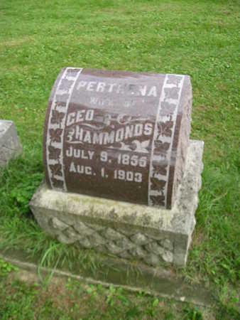 HAMMONDS, PERTHENA - Bremer County, Iowa | PERTHENA HAMMONDS
