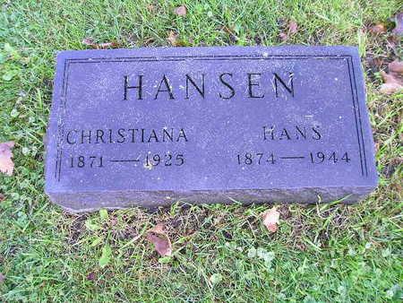 HANSEN, CHRISTIANA - Bremer County, Iowa | CHRISTIANA HANSEN
