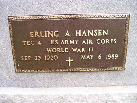 HANSEN, ERLING A - Bremer County, Iowa | ERLING A HANSEN